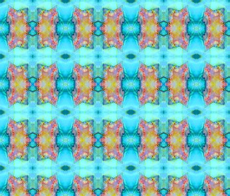 Cave Kitty (Rainforest Jasper) fabric by prettyrockdesigns on Spoonflower - custom fabric