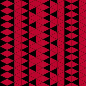 Triangle Check Red