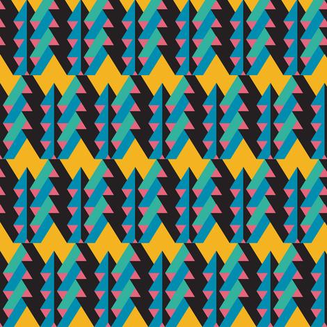 ribbon chevron blue fabric by pencilmein on Spoonflower - custom fabric