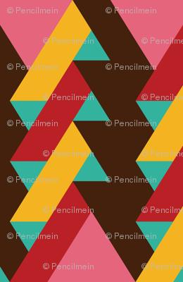 ribbon chevron pattern 2
