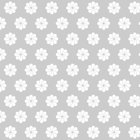 rosace_grise fabric by bebcorbi on Spoonflower - custom fabric