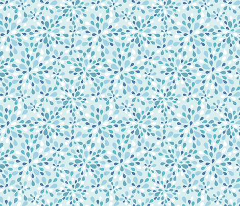 raindrops-1 fabric by kittenstitches on Spoonflower - custom fabric