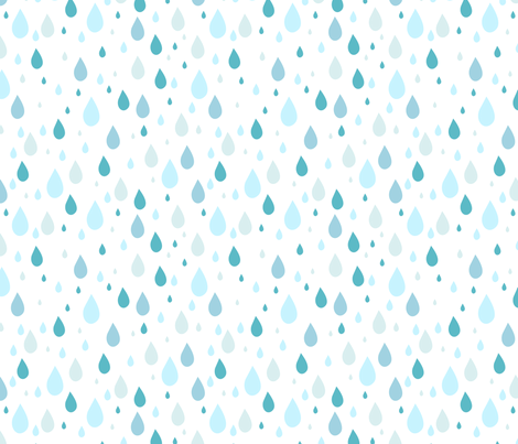 raindrops-3 fabric by kittenstitches on Spoonflower - custom fabric