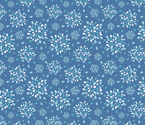 raindrops-4 fabric by kittenstitches on Spoonflower - custom fabric