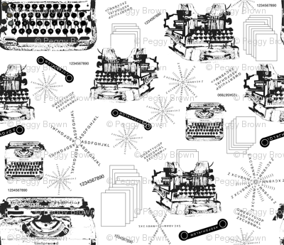Typewriter, Ribbon & Paper