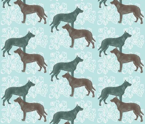 Beauceron Dog Fabric fabric by dogdaze_ on Spoonflower - custom fabric