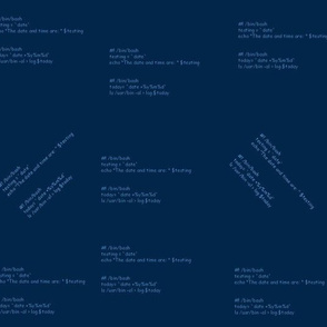 bash script1 - dk blue