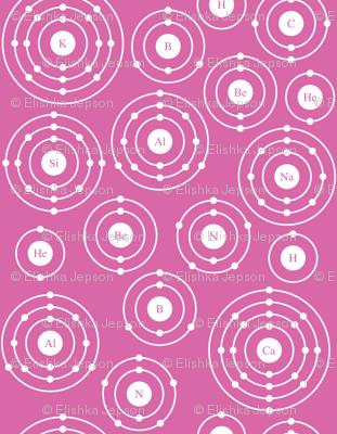 Periodic Shells (Pink Ditsy)