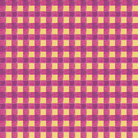 rutabaga gingham fabric by mojiarts on Spoonflower - custom fabric