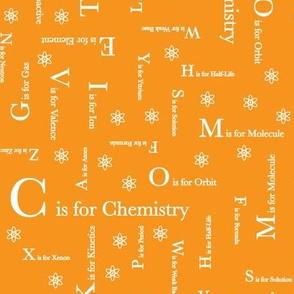 C is for Chemistry (Orange)