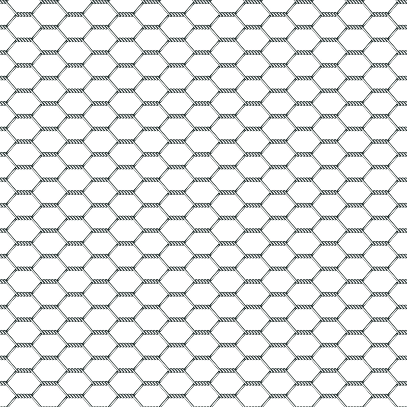 Chicken Wire fabric - golders - Spoonflower