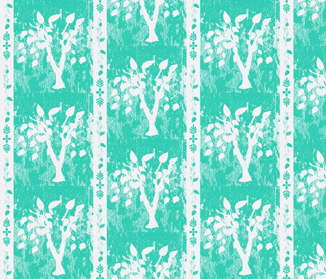 willow-tree wash fabric by amy_frances_designs on Spoonflower - custom fabric