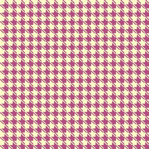 yellow plum houndstooth