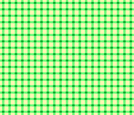 spring green rough checks fabric by mojiarts on Spoonflower - custom fabric