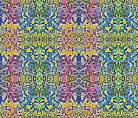 Fractured Colors 6 fabric by animotaxis on Spoonflower - custom fabric