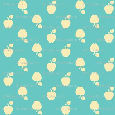 Polka_Apples_blue