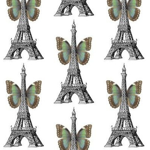 Eiffel Tower Butterfly