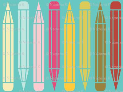 just_pencils_multi_onblue