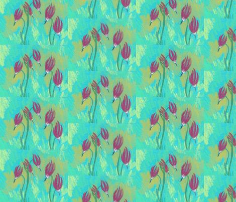 shooting stars fabric by juliannjones on Spoonflower - custom fabric