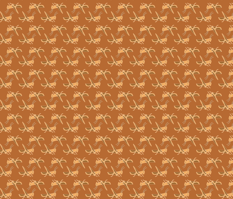 tissuSauterelles fabric by thelazygiraffe on Spoonflower - custom fabric