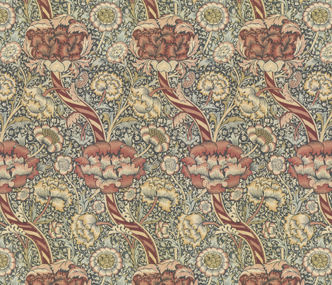morris fabric by unseen_gallery_fabrics on Spoonflower - custom fabric