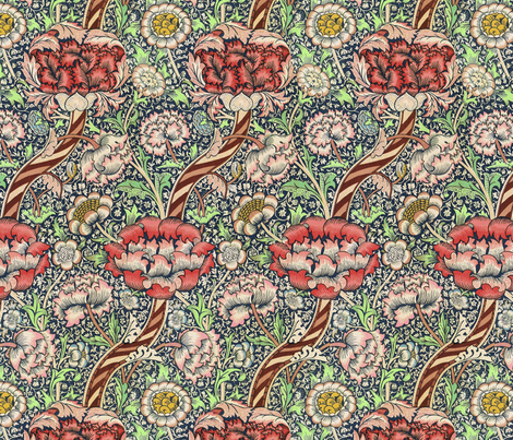 morrisx fabric by unseen_gallery_fabrics on Spoonflower - custom fabric
