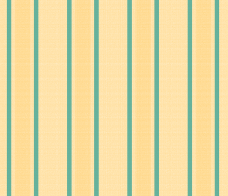 teal yellow stripes 2 fabric by mojiarts on Spoonflower - custom fabric