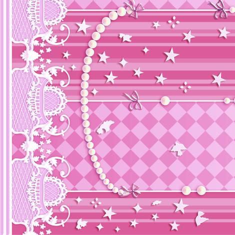 Fancy Gothic fabric by jadegordon on Spoonflower - custom fabric