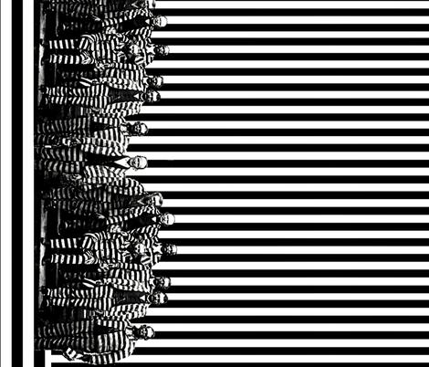 Gangsta Border fabric by whimzwhirled on Spoonflower - custom fabric