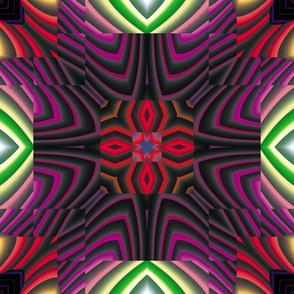 Flowery Incan Tiles 17