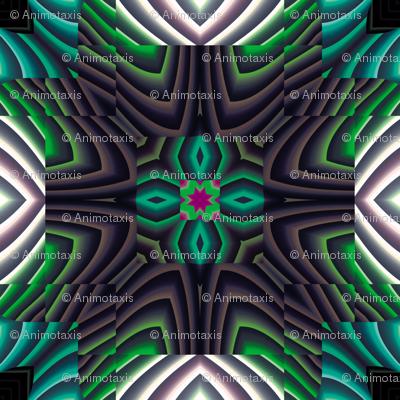 Flowery Incan Tiles 18