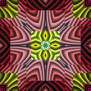 Flowery Incan Tiles 21