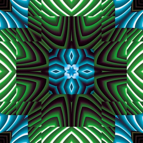 Flowery Incan Tiles 23