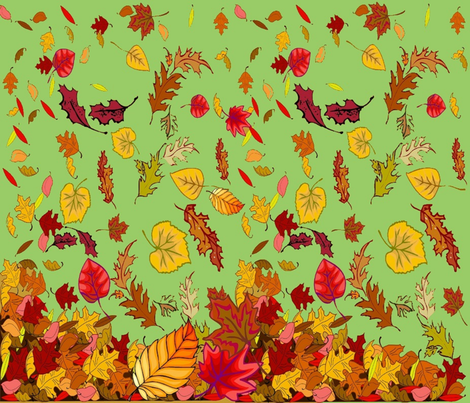 FALL CHEATER QUILT fabric by bluevelvet on Spoonflower - custom fabric