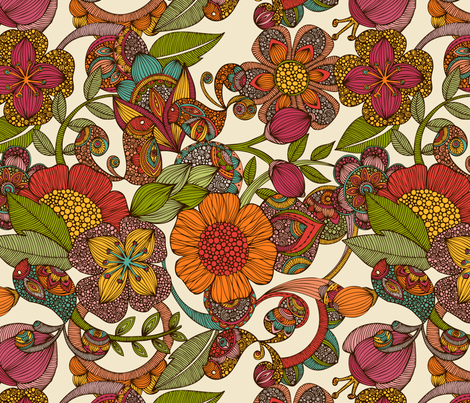 amaris fabric by valentinaharper on Spoonflower - custom fabric