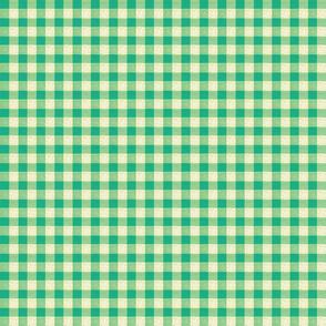 green yellow gingham