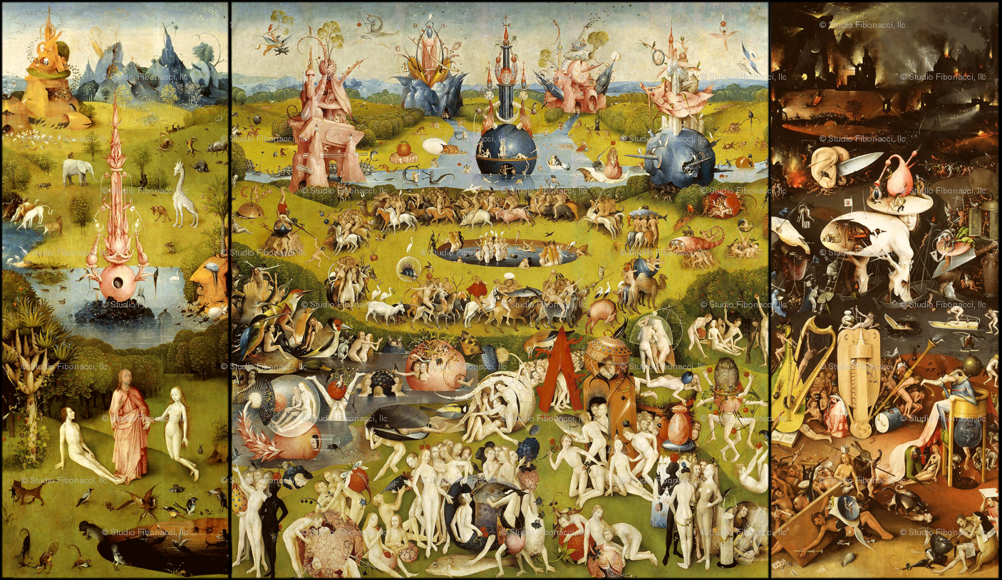 The garden of earthly delights print garden ftempo for The garden of earthly delights