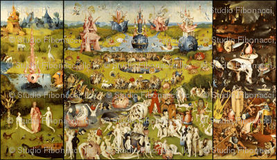 The Garden of Earthly Delights (Hieronymus Bosh, 1510)