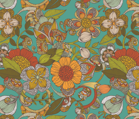 Amelia fabric by valentinaharper on Spoonflower - custom fabric