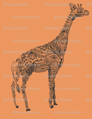Giraffe Color