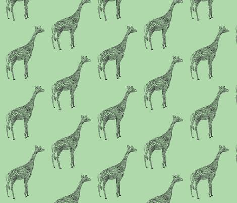 Giraffe  fabric by kanikamathur on Spoonflower - custom fabric