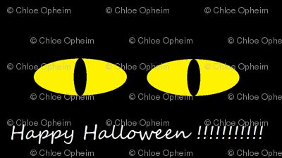 Halloween Scary Eyes
