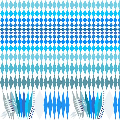 bavarian_flag500 fabric by wren_leyland on Spoonflower - custom fabric