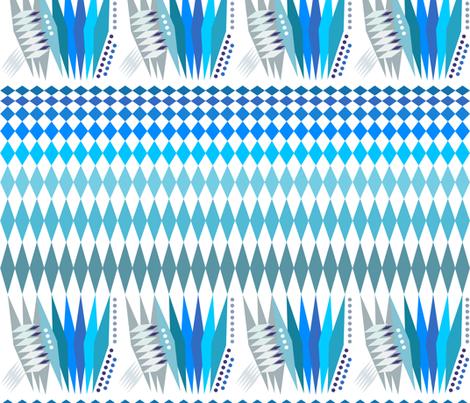 Bavarian Flag3000 fabric by wren_leyland on Spoonflower - custom fabric