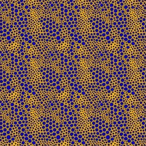 Dot Crowd: Gold and Sapphires