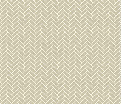 Natural Herringbone fabric by designedtoat on Spoonflower - custom fabric