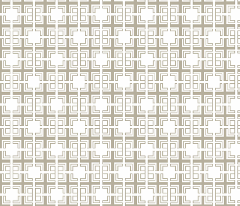 Natural Weave ii fabric by designedtoat on Spoonflower - custom fabric