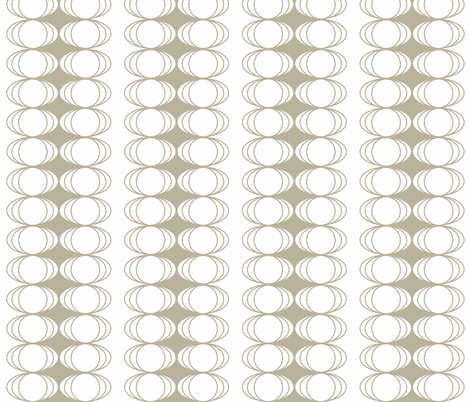 Natural Moons fabric by designedtoat on Spoonflower - custom fabric