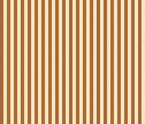 brown peach stripes fabric by mojiarts on Spoonflower - custom fabric
