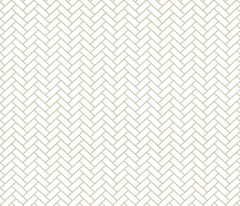 Natural Herringbone ii fabric by designedtoat on Spoonflower - custom fabric
